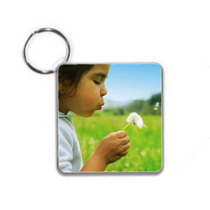 Plastic  Keyring - Personalise It