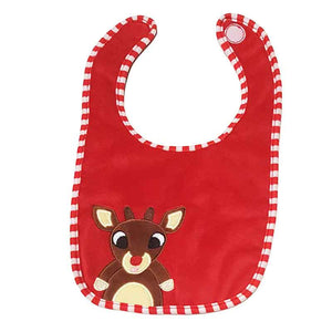 Cute Soft Christmas Bib.