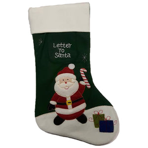 White Top Christmas Stockings