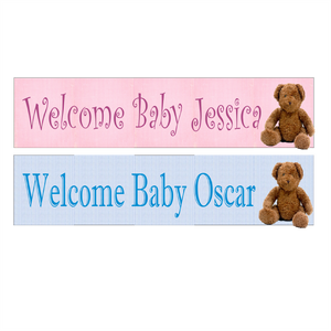 New Baby Banner