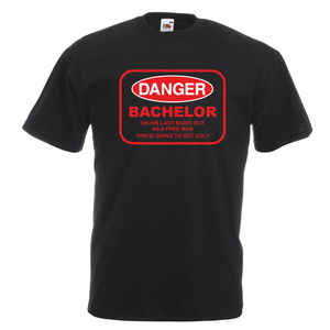 Danger Bachelor T-Shirt
