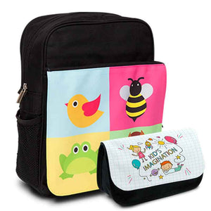 Bag and Pencil Case Combo, Personalised Gift