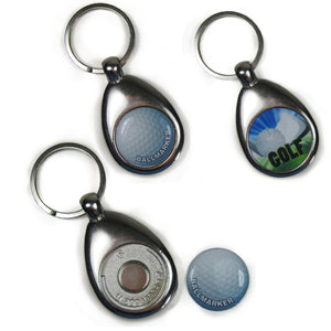 Golf Ball marker Keyring - Personalise It