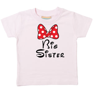 Big Sister (Disney) T-Shirt, Personalised Gift
