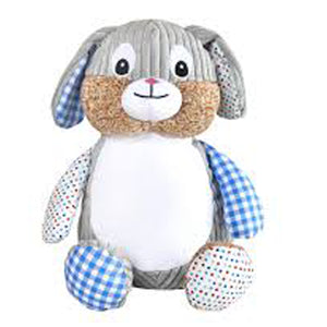 Cubbies Harlequin Blue Rabbit