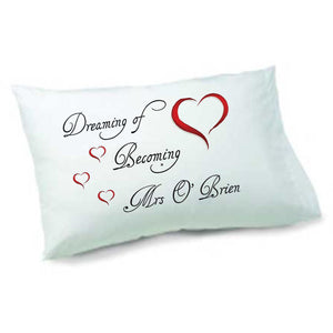 Brides Pillowcase - Personalise It