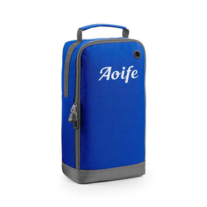 Athleisure Sports Shoe/ Accessory Bag Bright Royal Blue Variant