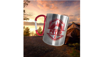 Personalised Stainless Steel Camping Mug