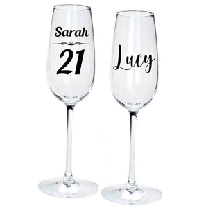 Champagne Flute Personalised Gift - Personalise It