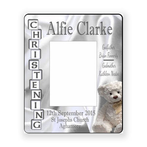 Christening Frame - Personalise It