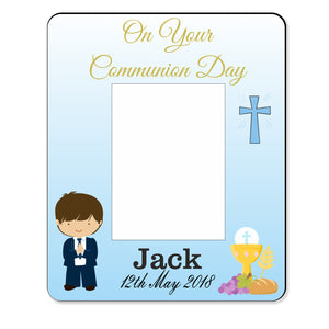 Communion Frame - Personalise It