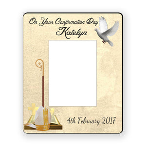 Personalised Confirmation Frame - Personalise It