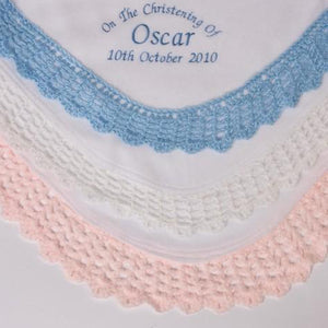 Christening Blanket - Personalise It