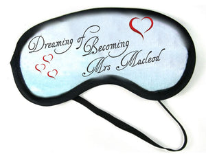 Eye Mask - Personalise It