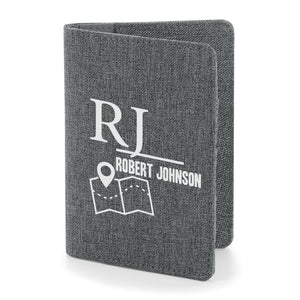 Essential Passport Cover, Personalised Gift
