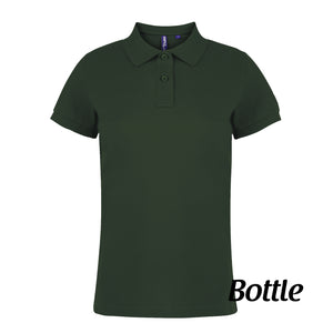 Asquith & Fox Ladies Polo - Personalise It