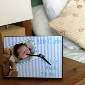 Personalised Baby Clock