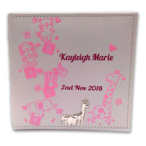 Personalised Baby Photo Album - Personalise It