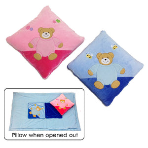 Personalised Baby blanket/Pillow (Quillow)
