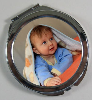 Personalised Compact Mirror - Personalise It