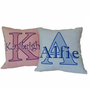 Small Soft Velour Cushion - Personalise It