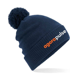 AgoraPulse Thermal Snowstar Beanie Re Branded