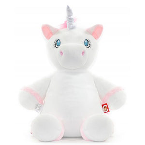 Cubbies Starflower white unicorn, Personalised Gift