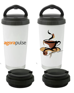 AgoraPulse Thermos Coffee Cup