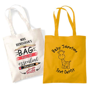 Bag For Life, Long Handles, Personalised Gift