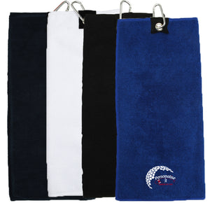 Tri Fold Golf Towel - Personalise It