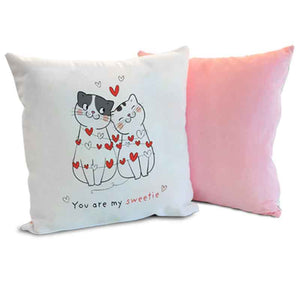 Soft Velour Cushion Personalised Gift