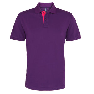Add a stylish note to your look with this polo. The colour contrasting trim accents adds a fun and vibrant twist to the classic polo.Fabric100% Ringspun combed cotton. Heather: 85% Ringspun cotton, 15% Viscose Weight200gsmSizeS 37 M 40 L 42 XL 44 2XL 47 3XL 49