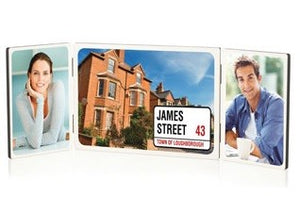 Table Top Photo Panel Sets - Trio 2 x 88.9x127 & 127 x 177.8