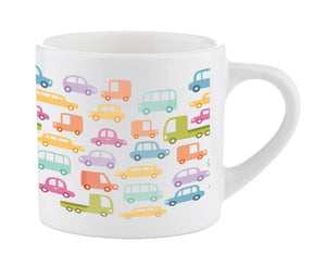 6oz small mug (Smug)Ideal for kids. Each mug is individually wrapped in a poly bag and white corrugated gift box