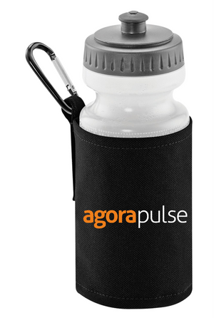 AgoraPulse Water Bottle With Holder