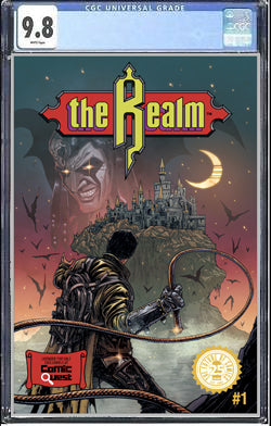 Realm #1 - Comic Quest Exclusive Haun Castlevania Homage Variant - CGC 9.8