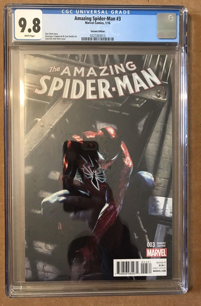 Amazing Spider-Man #3 - Dell'Otto 1:25 Variant - CGC 9.8