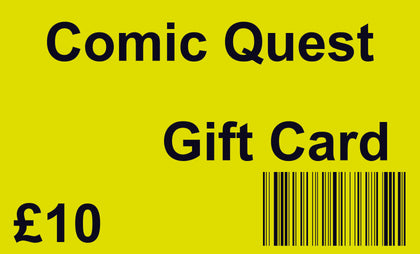 Comic-Quest In-Store (Only) £10 Gift Card