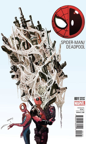 Spider-Man/Deadpool #1 - 1:25 Del Mundo Variant