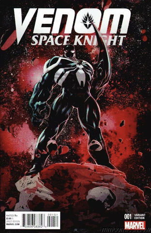 Venom Space Knight #1 -  1:25 Deodato Variant