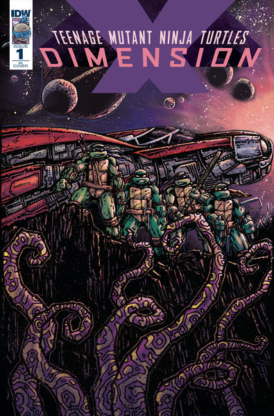 TMNT Dimension X #1 - 1:10 Eastman Variant