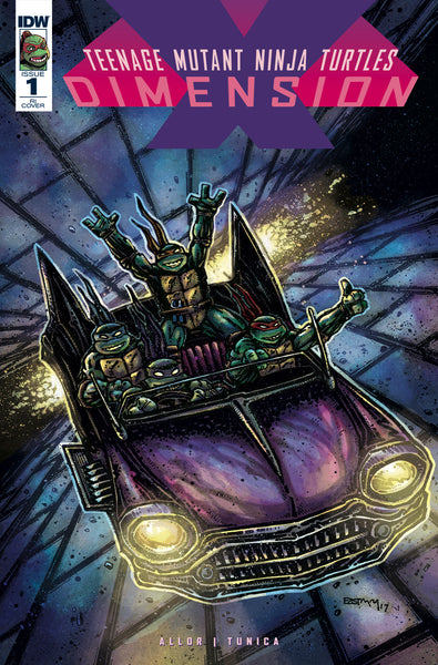 TMNT Dimension X #1 - 1:20 Eastman Variant