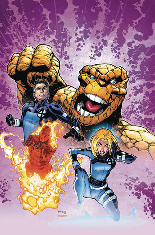 Life of Captain Marvel #2 - Ramos Return of Fantastic Four Variant
