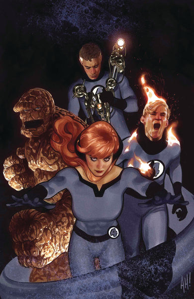 Tony Stark Iron Man #3 - Adam Hughes Return of Fantastic Four Variant