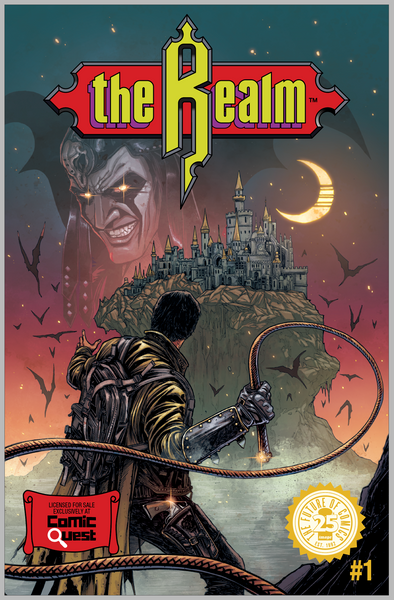 Realm #1 - Comic Quest Exclusive Haun Castlevania Homage Variant