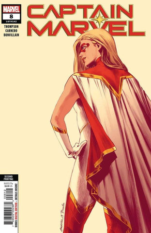 Captain Marvel #8 - 2nd Printing Cameo Variant
