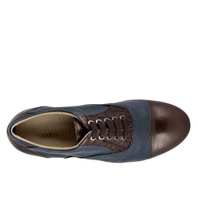 106 Oxford blu brown