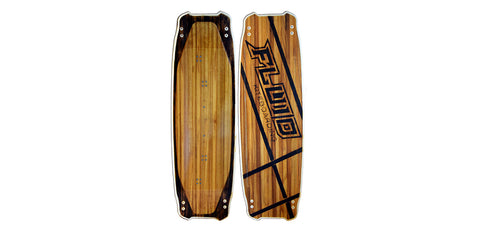 Fluid TwoSeven Kiteboard complete with pads