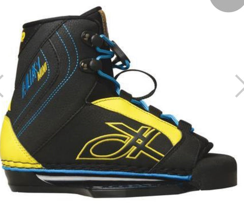 Double Up Alias mini OT Boys Boot sz 4-5 wakeboard