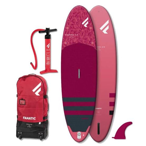 Fanatic Diamond Air inflatable SUP Paddle Board 9'8